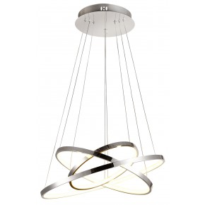 LUNE LAMPA WISZĄCA 50 OKRĄGŁY POTRÓJNY 60W LED 4000K CHROM