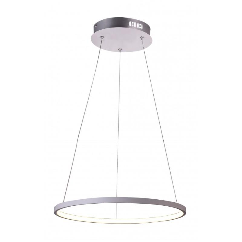 Lampy-sufitowe - lampa wisząca biała ze zintegrowanym led-em 30 18w 4000k lune 31-64639 candellux firmy Candellux