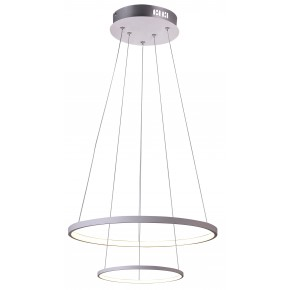 LUNE LAMPA WISZĄCA 50 OKRĄGŁY PODWÓJNY 40W LED 4000K BIAŁY