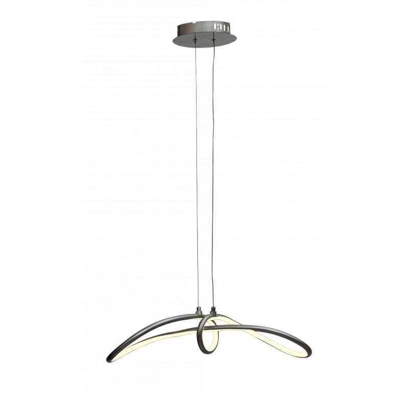 Lampy-sufitowe - lampa wisząca led z oryginalnymi wygięciami 38w 4000k slash 31-69887 candellux firmy Candellux
