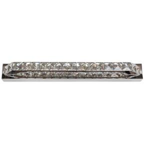 Kinkiety - chromowany kinkiet led z kryształkami zimne światło 6w lords 21-37985 candellux