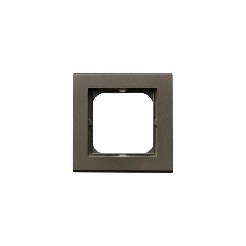 Ramki-pojedyncze - ramka pojedyncza r-1r/40 czekoladowy metalik sonata ospel firmy OSPEL