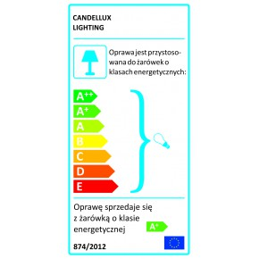 Lampy-sufitowe - biała lampa wisząca z regulowaną wysokością 42 3x40w g9 nemezis 31-59147 candellux
