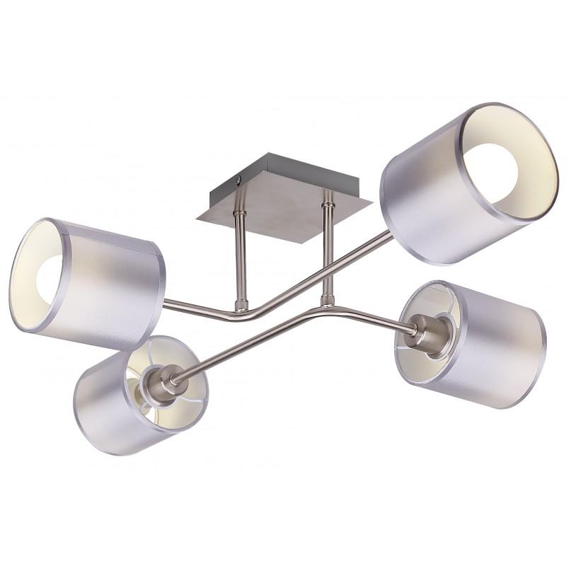 Lampy-sufitowe - plafon satynowy czteropunktowy 4x40w e14 sax 34-70685 candellux firmy Candellux
