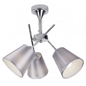 VOX LAMPA WISZĄCA 3X40W E14 CHROM Z ABAŻUREM