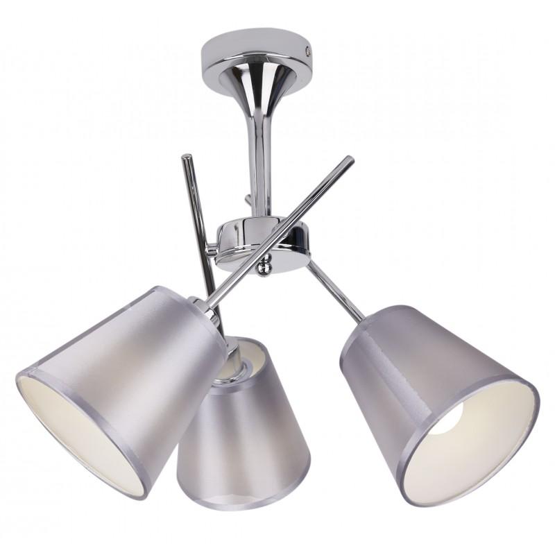Lampy-sufitowe - trzypunktowa lampa wisząca w kolorze chromowym 3x40w e14 vox 33-70623 candellux firmy Candellux