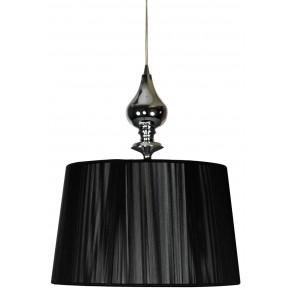 GILLENIA LAMPA WISZĄCA 1X60W E27 CZARNY