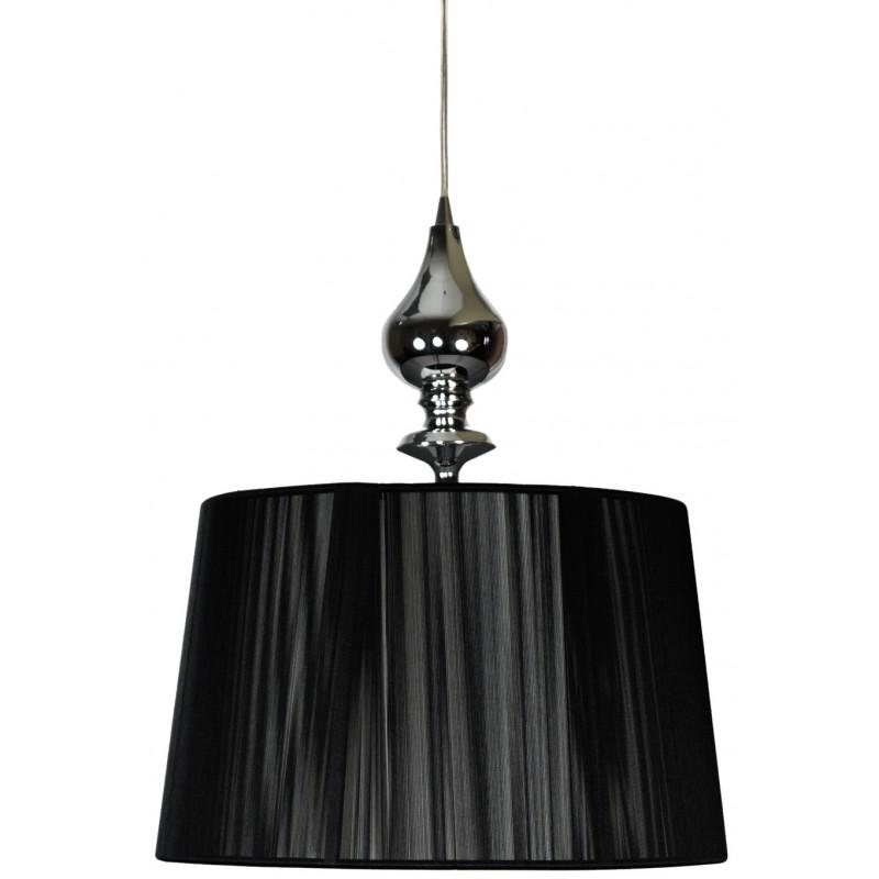 Lampy-sufitowe - lampa sufitowa czarna w stylu glamour e27 60w 31-21437 gillenia candellux firmy Candellux
