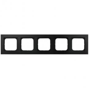 Czarny ramka pięciokrotna R-5R/33 SONATA Ospel