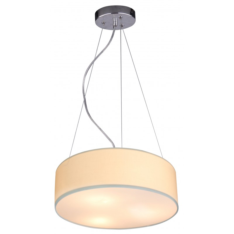 Lampy-sufitowe - wisząca kremowa lampa sufitowa 40 3x40w e27 kioto 31-67739 candellux firmy Candellux