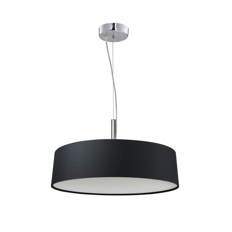 Lampy-sufitowe - czarna lampa wisząca regulowana 3x60w e27 blum 31-47311 candellux firmy Candellux
