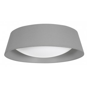 MOLA LAMPA SUFITOWA PLAFON 43 16W LED 6500 K Z ABAŻUREM SZARY