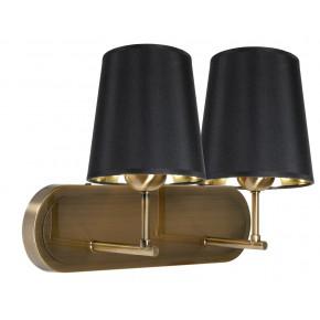 MILONGA LAMPA KINKIET 2X60W E27 PATYNA