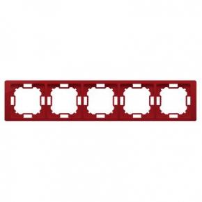 Ramka pięciokrotna rubinowa BMRC5/033 Simon Basic Neos Kontakt-Simon