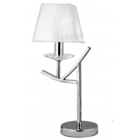 VALENCIA LAMPA 1X40W E14 CHROM H-45