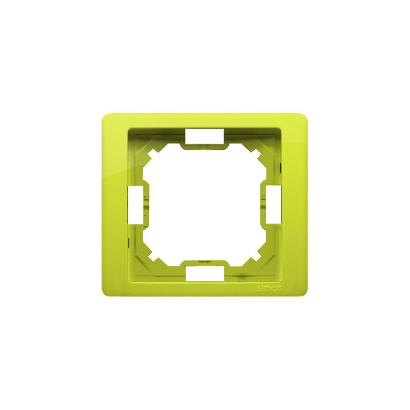 Ramki-pojedyncze - ramka pojedyncza limonkowa bmrc1/036 simon basic neos kontakt-simon firmy Kontakt-Simon