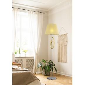 Lampy-stojace - lampa podłogowa złoto-srebrna e27 diva 51-55088 candellux