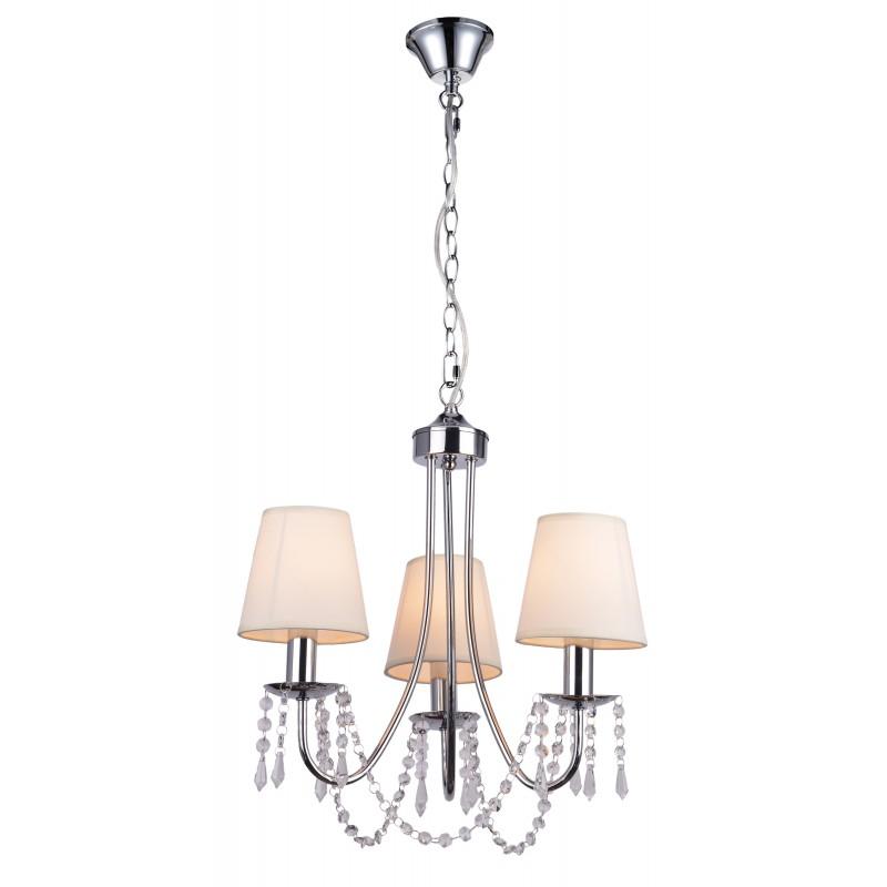 Lampy-sufitowe - stylowa lampa wisząca z kryształkami 3x40w e14 ruti 33-58713 candellux firmy Candellux