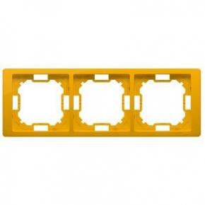 Ramka potrójna słoneczna żółta BMRC3/034 Simon Basic Neos Kontakt-Simon