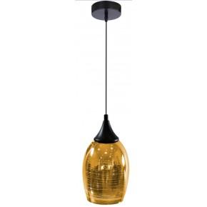 MARINA LAMPA WISZĄCA 14 1X60W E27 ZŁOTY