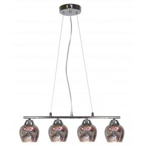 SIRIUS LAMPA WISZĄCA 4X60W E27 CHROM 3D