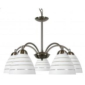 ULI LAMPA WISZĄCA 5X60W E27 SATYNA