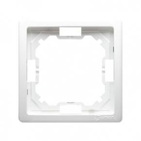 Biała ramka pojedyncza BMR1/11 Simon Basic Standard Kontakt-Simon