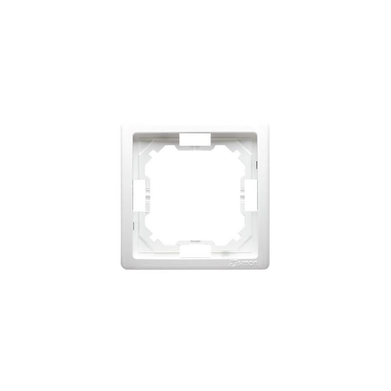 Ramki-pojedyncze - biała ramka pojedyncza bmr1/11 simon basic standard kontakt-simon firmy Kontakt-Simon
