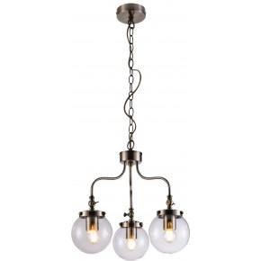 BALLET LAMPA WISZĄCA 3X40W E27 PATYNOWY