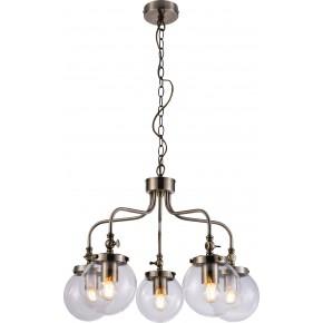 BALLET LAMPA WISZĄCA 5X40W E27 PATYNOWY