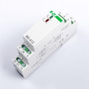 Przekazniki-bistabilne - bis-412 elektroniczny przekaźnik impulsowy grupowy hotelowy f&f