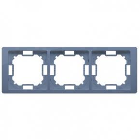 Ramka potrójna lawendowa BMRC3/035 Simon Basic Neos Kontakt-Simon