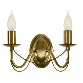 MUZA LAMPA KINKIET 2X40W E14 PATYNA