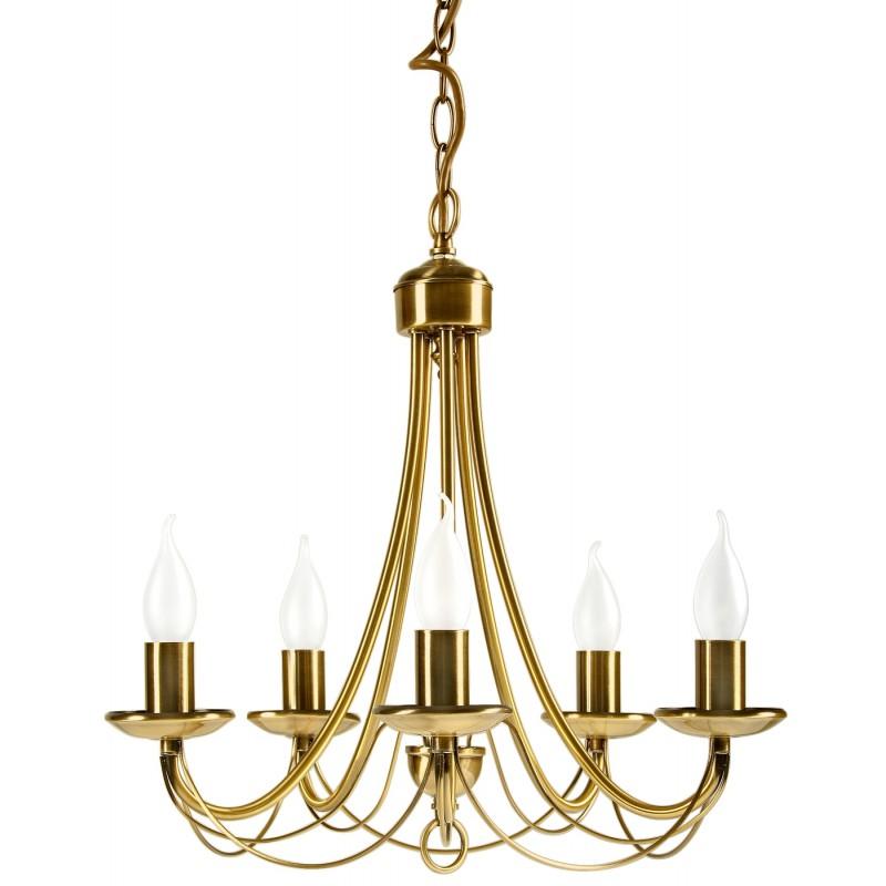 Lampy-sufitowe - bankietowy żyrandol na 5 żarówek e14 muza 35-69170 candellux firmy Candellux