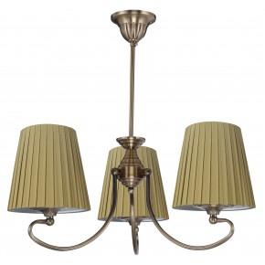 MOZART LAMPA WISZĄCA 3X60W E27 PATYNOWA MIEDŹ MIODOWY