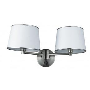 IBIS LAMPA KINKIET 2X40W E14 SATYNA