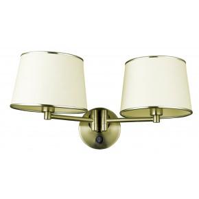 IBIS LAMPA KINKIET 2X40W E14 PATYNA