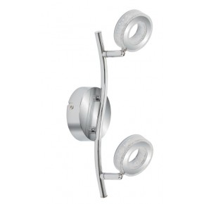VINOLA LAMPA SUFITOWA LISTWA 2X5W LED CHROM 3000K