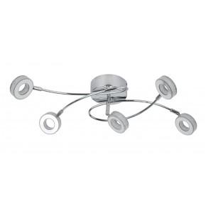 VINOLA LAMPA SUFITOWA PLAFON 5X5W LED CHROM 3000K