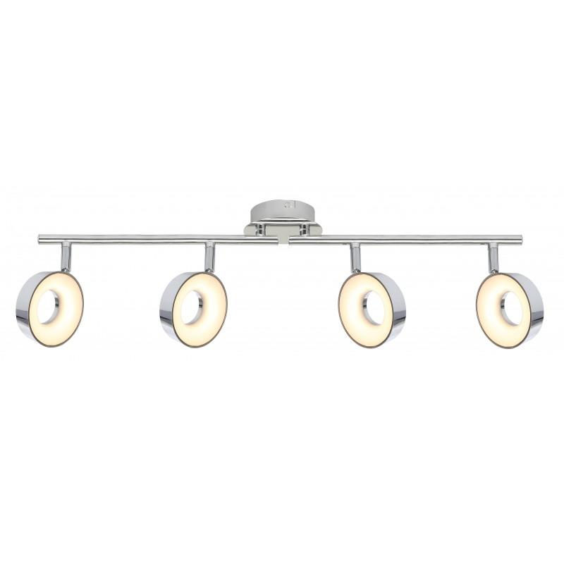 Lampy-sufitowe - isla lampa sufitowa listwa 4x4w led chrom 3000k firmy Candellux