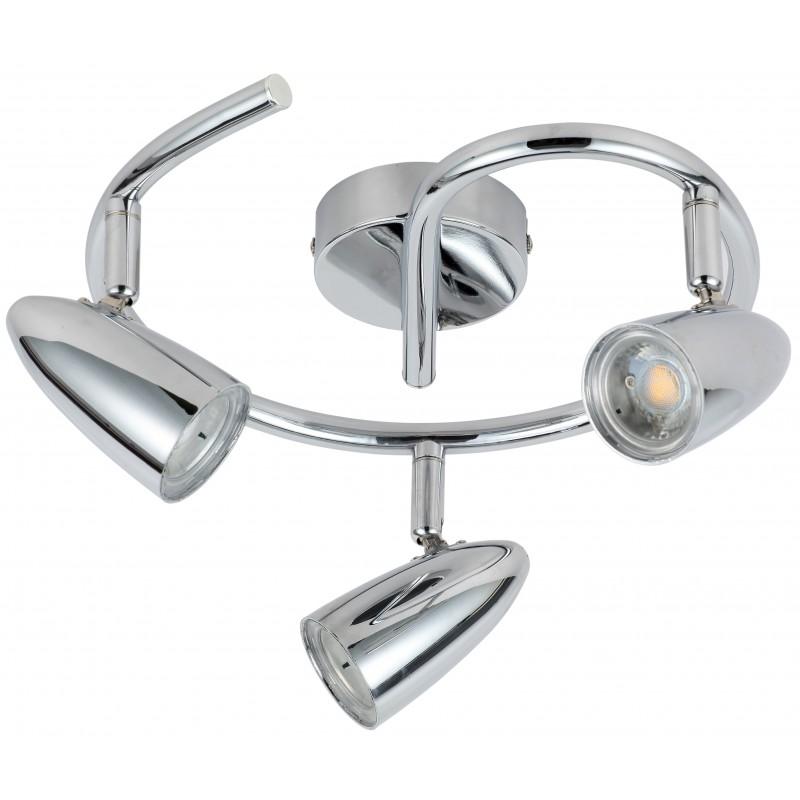 Lampy-sufitowe - lampa sufitowa spirala chrom led 3x4w 93-49612 liberty candellux firmy Candellux