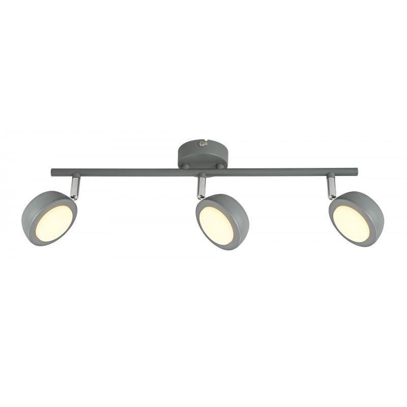 Lampy-sufitowe - oprawa ścienno-sufitowa 3 punkty świetlne led 3x6w 3000k mild 93-66541 candellux firmy Candellux