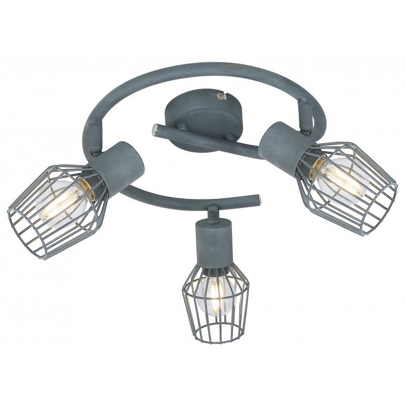 Lampy-sufitowe - viking lampa sufitowa spirala 3x40w e14 szary 98-68040 candellux firmy Candellux