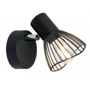 FLY LAMPA KINKIET 1X40W E14 CZARNY