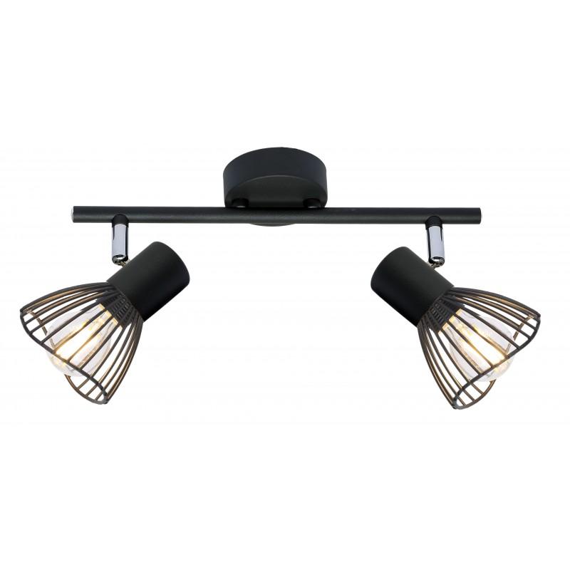 Lampy-sufitowe - lampa sufitowa - listwa o ruchomych kloszach 2x40w e14 fly 92-61904 candellux firmy Candellux