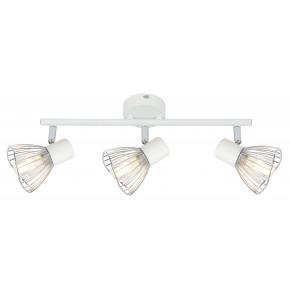 Lampy-sufitowe - lampa sufitowa - listwa biało chromowa 3x40w e14 fly 93-61973 candellux
