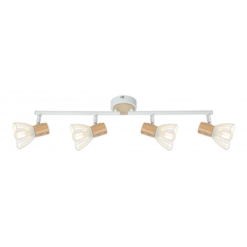 Lampy-sufitowe - listwa sufitowa z obrotowymi ramionkami 4x25w e14 chile 94-61645 candellux firmy Candellux