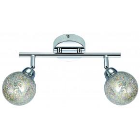 Lampy-sufitowe - lampa ścienna listwa o dwóch oryginalnych kloszach 2x4w led g9 kaleidoscope 92-61560 candellux