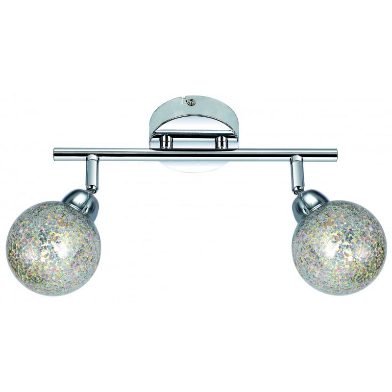 Lampy-sufitowe - lampa ścienna listwa o dwóch oryginalnych kloszach 2x4w led g9 kaleidoscope 92-61560 candellux firmy Candellux