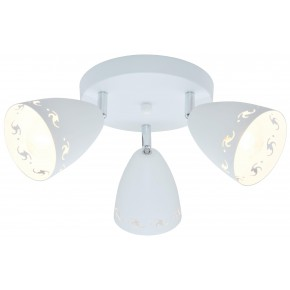 COTY LAMPA SUFITOWA PLAFON 3X40W E14 BIAŁY MAT
